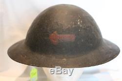 WW1 Canadian CEF Brodie Helmet Machine Gun Corps