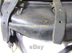 WW1 Era U S Calvary Saddlebags BLACK RARE