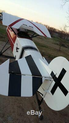 WW1 Fokker DVIII replica airdrome airplanes build quality build