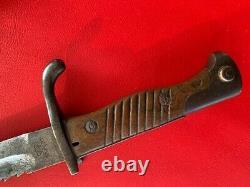 WW1 German 98/05 aA SAWBACK Bayonet, W15