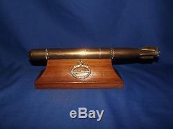 WW1 German Bronze Torpedo Trophy