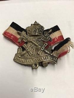 WW1 German EK2 Iron Cross War Merit Austrian Prussian Imperial medal MG Badge