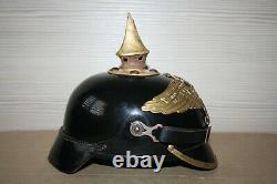 WW1 German Felt Ersatz Pickelhaube Helmet