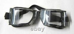 WW1 German Flying Goggles Red Baron Vintage aviator driving motorcycle WWI New