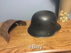WW1 German Helmet M16+ Front Plate, Brow plate, Stirnpanzer