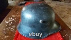 WW1 German Helmet, Original Reichswehr Black