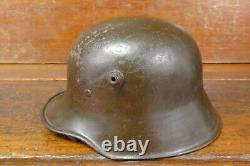 WW1 German M16/M17/M18 Stahlhelm Coal Bucket Steel Helmet with Liner & Chinstrap