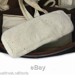 WW1 German M16 helmet liner withpads, split pins & chinstrap all sizes