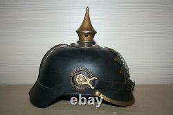 WW1 German Pickelhaube Helmet