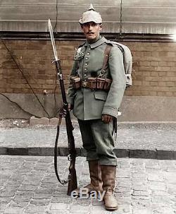 WW1 German / Prussian Mauser Sg98/05nA Butcher Sword Bayonet & Scabbard 1915