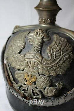 WW1 German Prussian Officers Pickelhaube Beamte