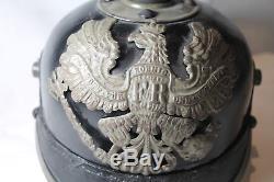 WW1 German Prussian Pickelhaube Helmet