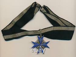 WW1 German pin cross badge medal bar NAMED Pour le Mérite grouping WW2 war PILOT