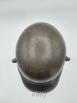 WW1 IMPERIAL GERMAN M16 HELMET with complete leather liner ORIGINAL WWI Uniform