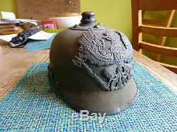 Ww1 Imperial German Picklehaube Spiked Helmet