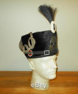WW1 Imperial German Army Prussian Hussar PELZMUTE / BUSBY NAMED VERY RARE