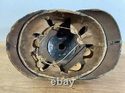 WW1 Imperial German Army Prussian Pickelhaube Helmet M1915
