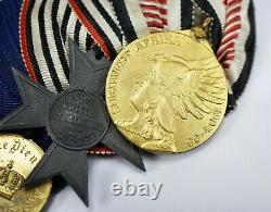 WW1 Imperial German Army pin afrika badge medal uniform WW2 parade ribbon bar