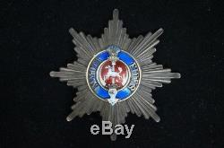 WW1 Imperial German Brunswick Order of Henry The Lion 1880-1912 Breast Star