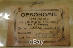 WW1 Imperial German Prussian Grenadier Officers Picklehaube Trichter Storage