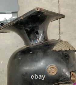 WW1 Imperial German Prussian Pickelhaube Lancer Garde Helmet Ulanen Tschapka WWI