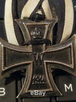 WW1 Imperial German badge Knight Iron cross 1914 award WWII medal ribbon