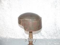 WW1 Italian Machine Gun Corps Farina Steel Helmet