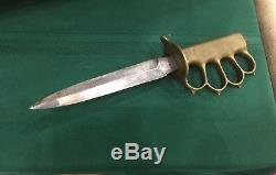 WW1 LF&C 1918 Trench Knife RARE