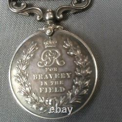 WW1 MILITARY MEDAL MM for bravery in the field. Un-named as issued