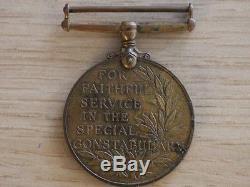 WW1 Medals Meritorious Service Company Quarter Master Serjeant David M Blyth