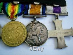 WW1 Military Cross MID medal group Major Dunkley RE & WW2 59th Staffordshire Rgt