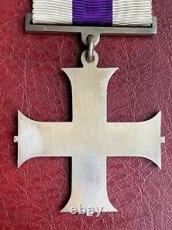 WW1 Military Cross in Original Case of Issue with 2nd Award Bar