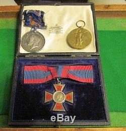 Ww1 Nurses Medals Royal Red Cross British War Medal