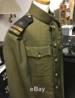 WW1 Navy Pilots Aviation Greens NAMED