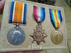 Ww1 Officers Medal Group Casualty Killed Loos 1915 Scots Fusiliers Cruickshank