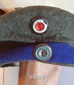 Ww1 Original Imperial German Army Feldmutze Cap 1915