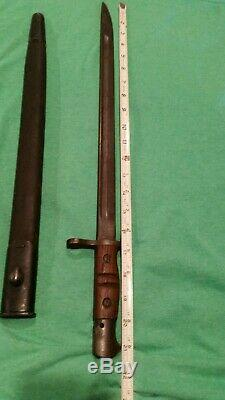 WW1 Remington M1917 Bayonet, Sword