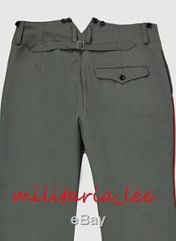 WW1 Repro German Officer Gabardine Trousers with Piping All Sizes