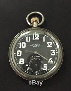 WW1 Royal Flying Corps Military Aviation MK V Omega Pocket/Cockpit Watch