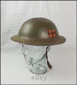WW1 Scottish Home Guard Brodie Helmet