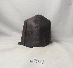 WW1 Tank Leather Can Helmet