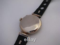 WW1 Trench Watch mono pusher single button Chronograph Telemeter, wire flexible
