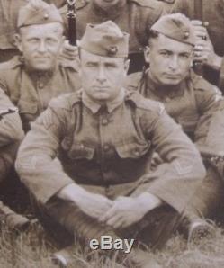 WW1 USMC GySgt 2x Wounded Belleau Wood 51st Co 5th Regt 2d Div EGA Purple Heart