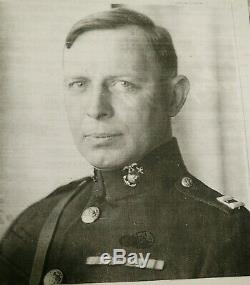 WW1 USMC Officer Uniform EGA Named