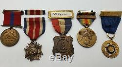 WW1 USMC Uniform Medal Group Named Numbered