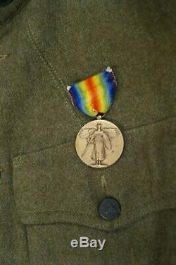 WW1 US AEF 3rd Army Machine Gunner Wool Tunic Jacket