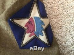 WW1 US ARMY 2ND BN. 2ND INFANTRY DIVISION WithBULLION PATCH