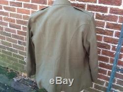 WW1 US Doughboy tunic Schipperfabrik 46 Reg