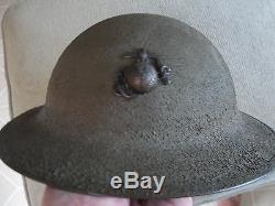 WW1 US Marine Helmet with EGA