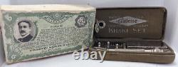 WW1 US Military Issue Property US Army 1918 Gillette Safety Razor Khaki Set With